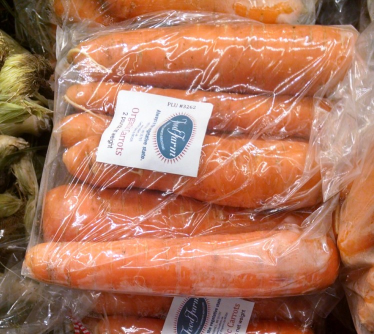 A bag of vegetable heaven: Food Farm carrots on sale at Whole Foods Co-op in Duluth.